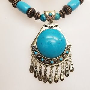 Jewelry - Bohemian, Tibetan style necklace